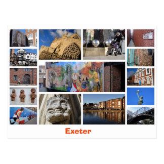 エクセターの郵便はがき ポストカード