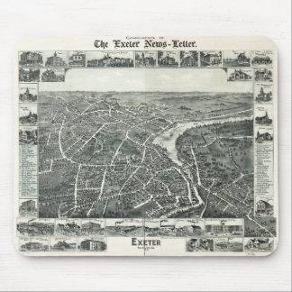 エクセター、ニューハンプシャー(1896年) マウスパッド