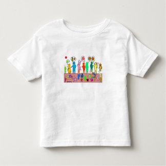エクモチとかわいいこどもたち トドラーTシャツ