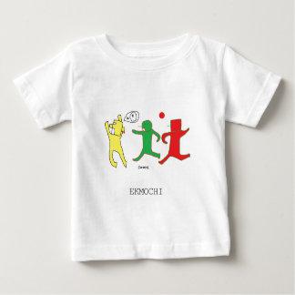 エクモチの子供服はああ、忙しい ベビーTシャツ