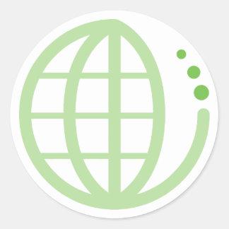 エコの地球 ラウンドシール