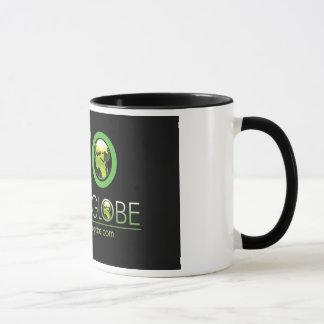 エコの緑の地球のコーヒー・マグ マグカップ