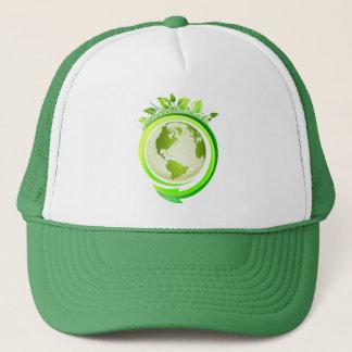 (エコの)トラック運転手の帽子のリサイクル キャップ