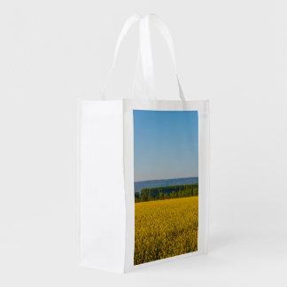 エコバッグの黄色い菜種の分野 エコバッグ