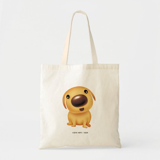 エコバッグ(ハッピー)(ハッピードッグ&にごうちゃんHappy dog & NigNig) トートバッグ