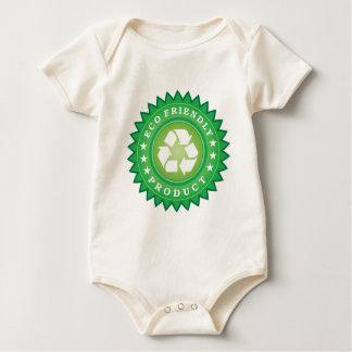 エコフレンドリープロダクト幼児onsieのクリーパー ベビーボディスーツ