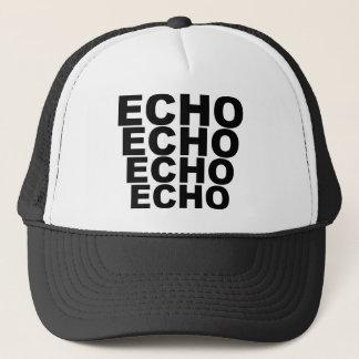 エコーのエコーのエコーのエコーのワイシャツの帽子のマウスパッドのマグ キャップ