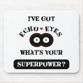 エコーはSuperpower2を注目します マウスパッド