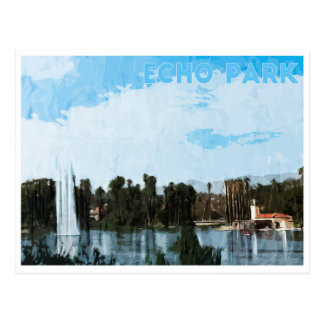 エコー公園のデジタル芸術 ポストカード