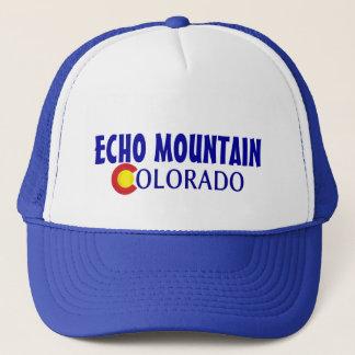 エコー山のコロラド州のシンプルで青い帽子 キャップ