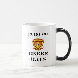 エコー2/9の緑の帽子 モーフィングマグカップ