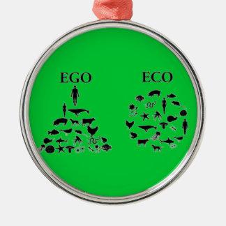 エコ対自我 メタルオーナメント