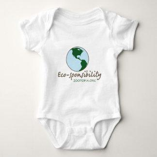 エコsponsibilityの服装 ベビーボディスーツ