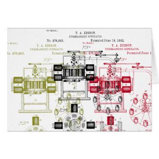 エジソンの発電機 カード