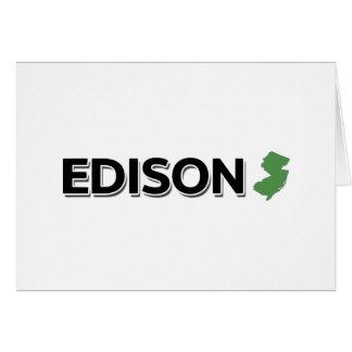 エジソン、ニュージャージー カード