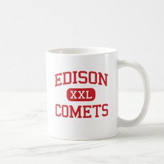エジソン-彗星-中間-広いイリノイ コーヒーマグカップ