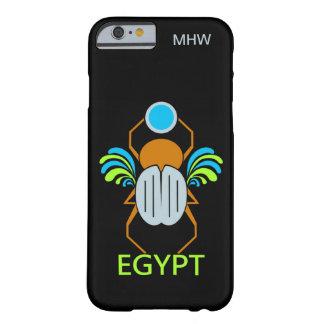 エジプトのオオタマオシコガネのカスタムなモノグラムのケース BARELY THERE iPhone 6 ケース
