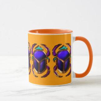 エジプトのオオタマオシコガネのカブトムシのコレクション マグカップ