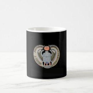 エジプトのオオタマオシコガネのカブトムシ コーヒーマグカップ