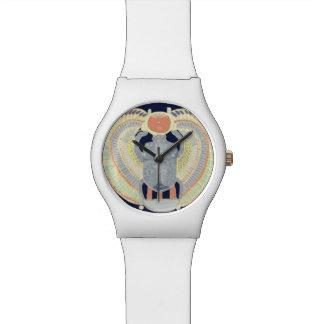 エジプトのオオタマオシコガネのデザイン 腕時計