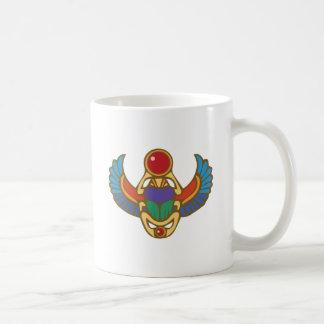 エジプトのオオタマオシコガネ コーヒーマグカップ
