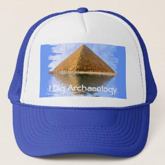 エジプトのギーザのピラミッド キャップ