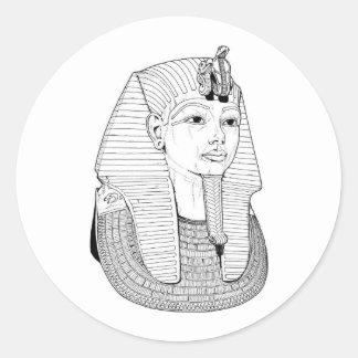 エジプトのステッカー ラウンドシール
