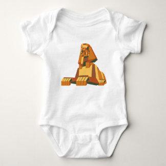 エジプトのスフィンクスの創造物 ベビーボディスーツ
