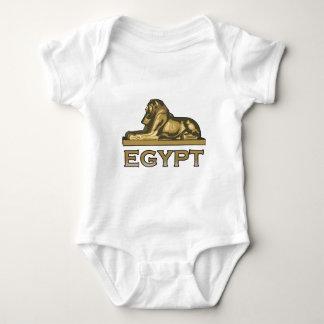 エジプトのスフィンクス ベビーボディスーツ