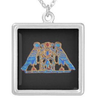 エジプトのネックレス シルバープレートネックレス