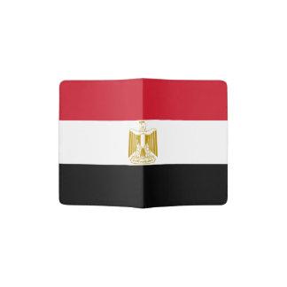 エジプトのパスポートのホールダーの旗 パスポートカバー