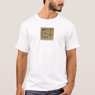 エジプトのヒエログリフ1 Tシャツ