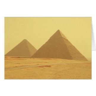 エジプトのピラミッド カード