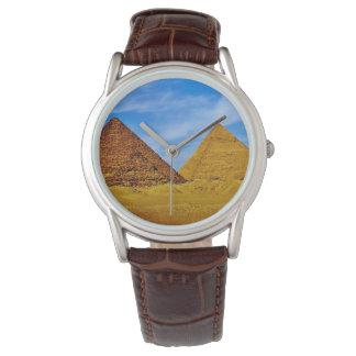 エジプトのピラミッド 腕時計