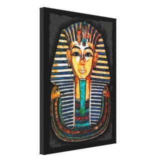エジプトのファラオのTutankhamenの芸術の勉強 キャンバスプリント