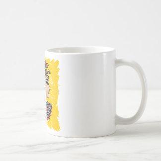 エジプトのファラオ コーヒーマグカップ