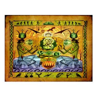 エジプトのモダンな郵便はがき ポストカード