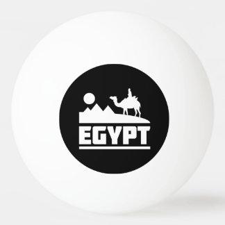 エジプトのラクダのシルエット 卓球ボール