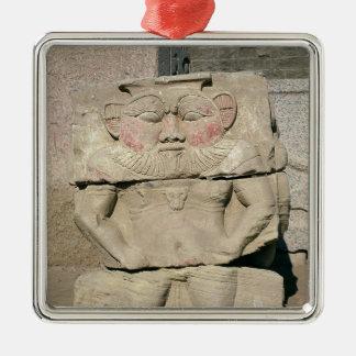 エジプトの世帯の神のレリーフ、浮き彫り、Bes メタルオーナメント