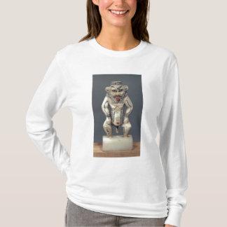 エジプトの世帯の神Besを描写するコールのポット Tシャツ
