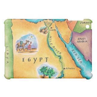 エジプトの地図 iPad MINIケース