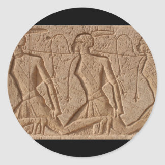 エジプトの彫刻 ラウンドシール