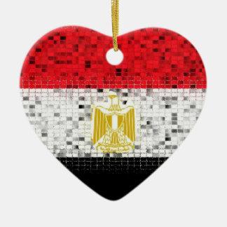 エジプトの旗のグリッターのオーナメント セラミックオーナメント