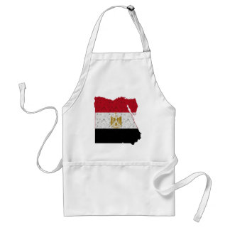 エジプトの旗の地図のパチパチ鳴る音 スタンダードエプロン