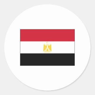 エジプトの旗インターナショナル ラウンドシール