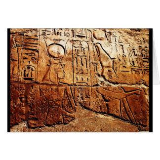 """""""エジプトの物語"""" JTGの芸術の挨拶状 カード"""