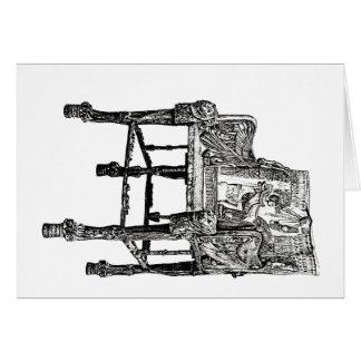 エジプトの王位の椅子 カード