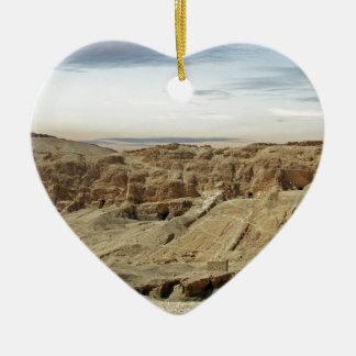 エジプトの砂漠 セラミックオーナメント