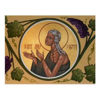 エジプトの祈りの言葉カードのSt Mary ポストカード