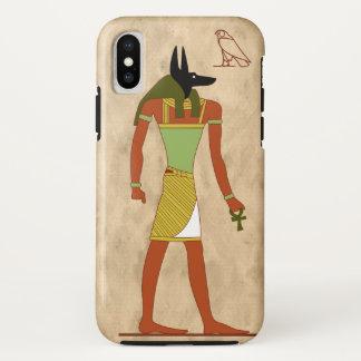 エジプトの神Anubis iPhone X ケース